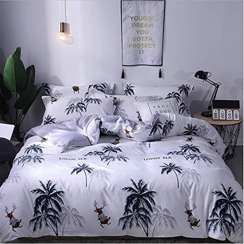 SHJIA Lace Bedding Set Größe Bettbezug Set Euporean Muster King Size Tröster Set L 180x220cm (Verkauf Faultier Für Preis)