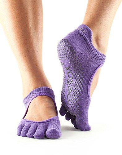 Toesox–Calcetines Grip Bellarina Yoga calcetines