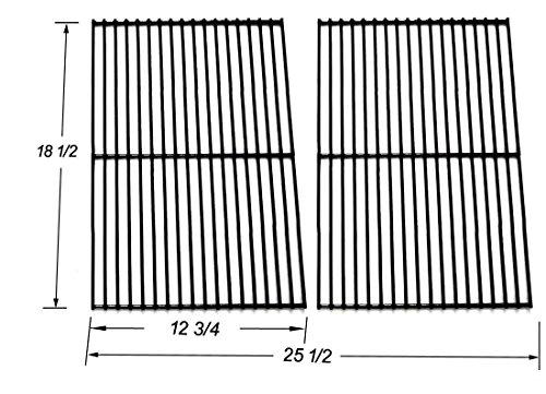 Bar.B.Q.S 54712 Porzellan beschichtetes Stahldraht Kochen Gitter Ersatz für Charbroil, DCS, Kenmore Sears und andere Grills, Set von 2