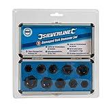 Silverline - 467893 - Coffret de 10 Extracteurs de Boulons
