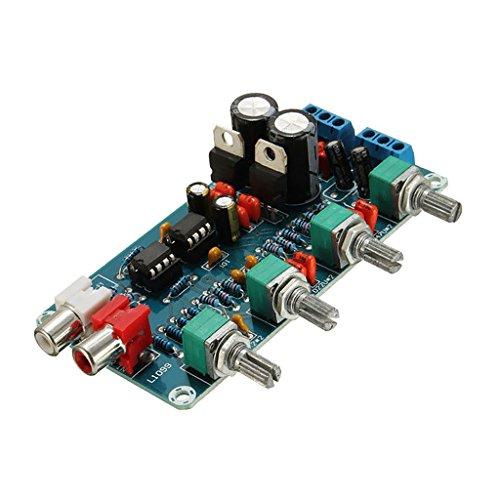 Homyl Ne5532 Op-amp Hifi Verstärker Lautstärke Eq Steuerplatine Vorverstärker Diy