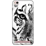 For Xiaomi Redmi 5A Wild Beauty ( Wild Beauty, Good Quotes, Dangerous Tiger, Tiger ) Printed Designer Back Case Cover By King Case