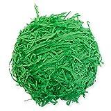 Ostergras grün 30gramm aus Papier für Osterdeko Osternest Osterkorb
