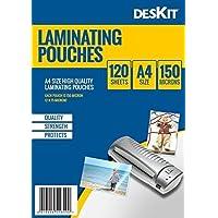 Pack de 100 fundas para plastificar, formato A4 (216 x 303 mm)