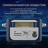 DVB-T Finder Digital Antenne terrestrische TV Antenne Signal Power Strength Meter Zeiger Fernsehempfangssysteme mit Kompass
