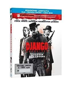 Django Unchained - Edizione Limitata Numerata Esclusiva Amazon.it (Blu-Ray+Comic Book+Colonna sonora)