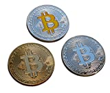 Rare Bitcoins 3 PCS Set of Very high Quality Coins Beautiful collectable Collectors Set
