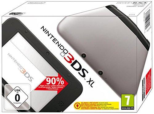 Nintendo 3DS XL - Konsole, silber/schwarz (Maker-software Kinder Für Game)
