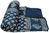 Virasat Jaipuri Print Cotton Double Bed Razai Quilts Blankets Comforters For Home Winters Jaipuri Cotton Razai