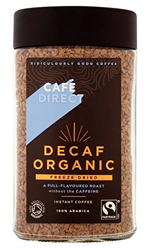 Cafédirect Fairtrade Medium Roast Freeze Dried Instant Coffee, 200 g, Pack of 6