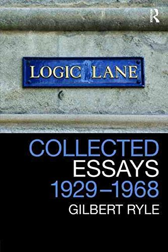 [(Collected Essays 1929 - 1968: Volume 2 : Collected Papers)] [By (author) Gilbert Ryle ] published on (August, 2009)