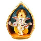 Aica Gifts Lord Ganesha Car Dashboard Figurine Showpiece