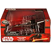 Official Disney Star Wars Force Awakens Poe's X Wing Fighter Die Cast Vehicle
