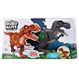 Robo Alive Jungle Green Attacking T-Rex Battery-Powered Robotic Toy by Zuru