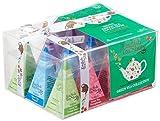 English Tea Shop - Teegeschenk mit Schleife Grüner Tee Kollektion, BIO, 12 Pyramiden-Beutel