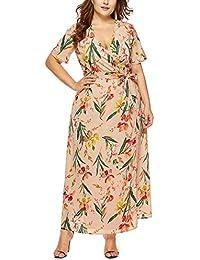 92c223fbf56 Amazon.es  Tallas Grandes Vestidos De Fiesta - 20 - 50 EUR   Vestidos    Mujer  Ropa