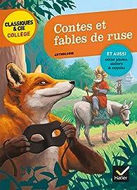 Contes et fables de ruse par Jean de La Fontaine