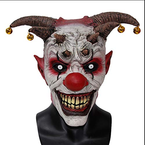 LYLLB-festival items Horror Glocke Clown Haube Halloween Party Kostüm Dekorative ()