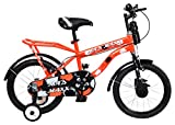 Mad Maxx Steel Kids Humber 16T Road Cycle, 16 inches (Neon Red)