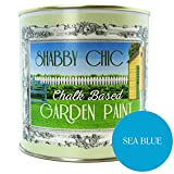 Mar azul Shabby Chic tiza en pintura de jardín (1L)