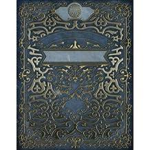 Monogram Golf Sketchbook: Blank Art Pad Notebook Journal: Volume 57 (Rustic Two 150 Sketch)
