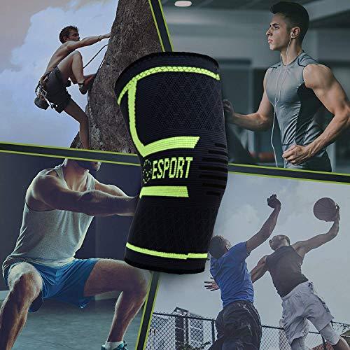 Zoom IMG-2 esport ginocchiere elastico paio a