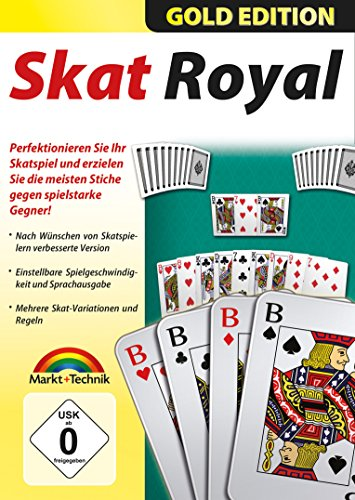 SKAT Royal Gold Edition - Premium Kartenspiel für Windows 10 - 8 - 7 - Vista - XP