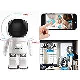 CYGG® Babyphone Wireless IP Überwachungskamera Roboter 960P 2MP IP Kamera Telefon Fernbedienung Home Security Nachtsicht Zwei-Wege-Audio