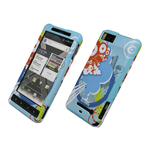EMPIRE Urban Gummierte Design Harte Case Tasche Hülle Cover for Verizon Motorola Droid X2