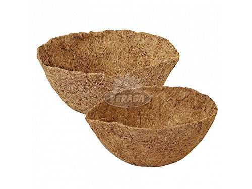 Pot en Coco à Terre et Plantes Verdemax Diam Jardin Balcon Fleurs 35 cm