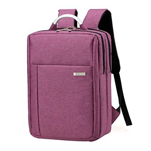 Qualität Freizeit Business-Student Reise Rucksack Computer-Rucksäcke Multicolor Purple