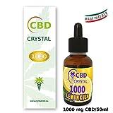 E-liquido CBD CRYSTAL1000lemonhaze 50ml - Liquido para cigarrillo electronico. E-liquid SIN...