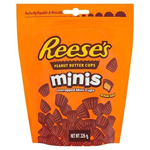 Reese Mini Peanut Butter Cups Beutel 226g