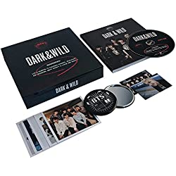 BTS 1st Album - [ DARK & WILD ] CD + Photobook + Photocard + FREE GIFT / K-POP Sealed