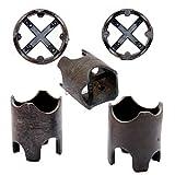 Bewehrung Abstandhalter Kunststoff B5 - 35 / 40 / 45 / 50 mm Universal Armierung 100 Stück