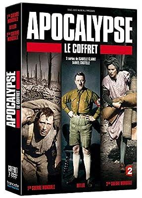 APOCALYPSE COFFRET 1ère GUERRE - HITLER - 2nd GUERRE