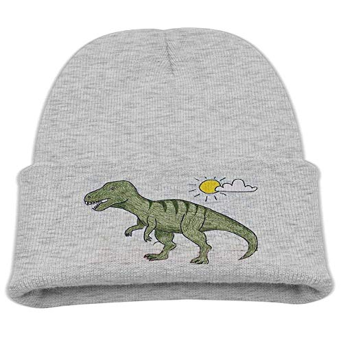 KLYDH Dinosaurs Morehats Waffle Knit Soft Beanie Warm Winter Hat Skull Hat for Unisex Waffle Visor Beanie