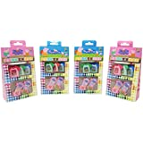 Parteet New Peppa Pig Erasers - Pack of 4 Box for Birthday Party Return Gifts for Kids