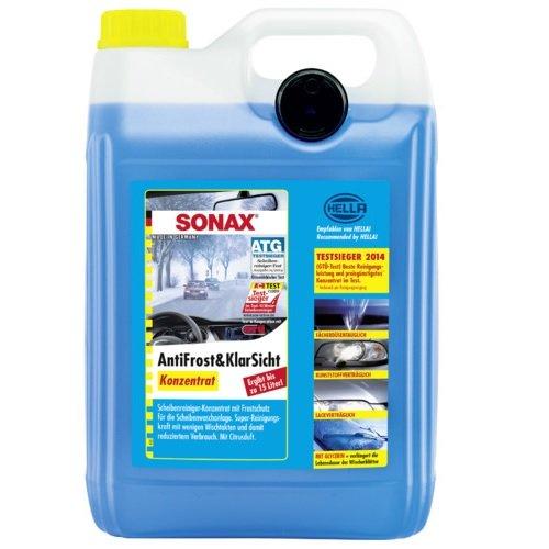 Preisvergleich Produktbild SONAX AntiFrost&KlarSicht Konzentrat 5 Liter - Scheibenwaschanlagen-Frostschutz