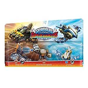 Skylanders Superchargers 3 Pack Multi Pack 1 (Shark Shooter Terrafin, Shark Tank, Jet Stream)