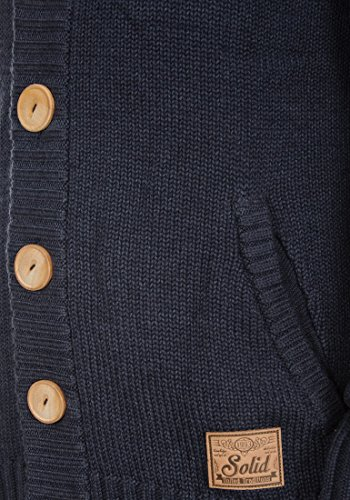 SOLID Payton - Veste en Maille- Homme Insignia Blue Melange (8991)