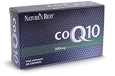 Co Q10 200mg - one-a-day formula, best value for UK-made - 60 capsules