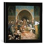 Gerahmtes Bild von Alfons MuchaDas slawische Epos: Zar Simon von Bulgarien 888-927