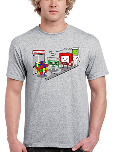 1196-Camiseta Oficina De Empleo (Melonseta)