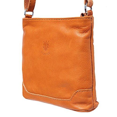 klein Schulter und Crossbody-Tasche 8685 Bräune