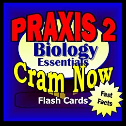 PRAXIS II Prep Test BIOLOGY Flash Cards--CRAM NOW!--PRAXIS Exam Review Book & Study Guide (PRAXIS II Cram Now! 2) (English Edition) par [PRAXIS II Cram Now!]