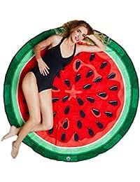 Smile YKK Chal de Playa Mujer Estampado Cojín de Playa