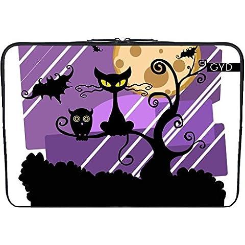 """Neopren huelle Laptop 15.6"""" inch - Halloween Horror Fest - by WonderfulDreamPicture"""