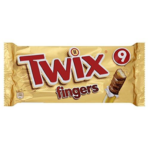 Twix Fingers Multipack, 9 x 23 g