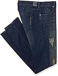 Allen Solly Womens Skinny Jeans (AWDN316C07117_Medium blue Solid_32)